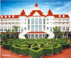 香港迪士尼乐园酒店(Hong Kong Disneyland Hotel) 酒店外观